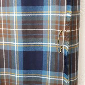 Vintage Highland Homes Scottish Made Wool Kilt L